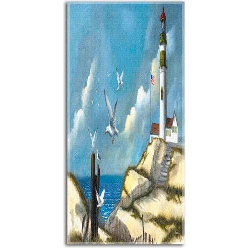 Hautman Beach Towel, Song the Seagulls