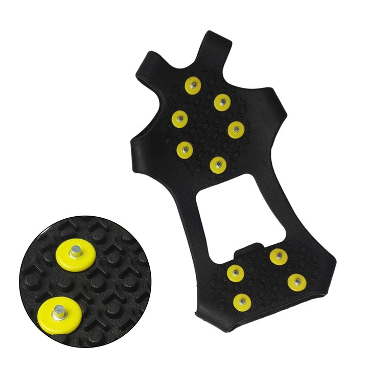 Anti-slip Shoes Cover 10-Stud Universal Outdoor Ice Crampon Snowfield Shoe Spikes Grips Cleats Winter Climbing Safety... by