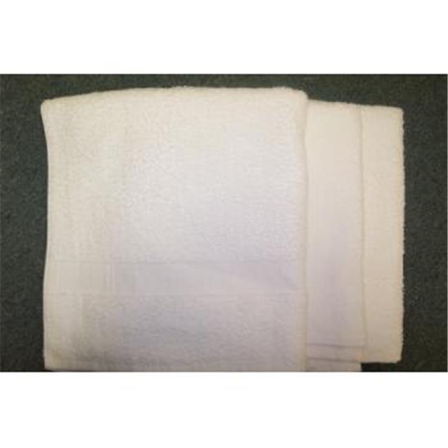 "DDI 485970 White Economy Bath Towel - 20"" x 40"" Case of 48"