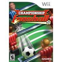 Championship Foosball (Wii)