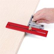 Woodworking Angle Ruler 45/90 Degree Ruler Scribe Gauge Measuring Tool