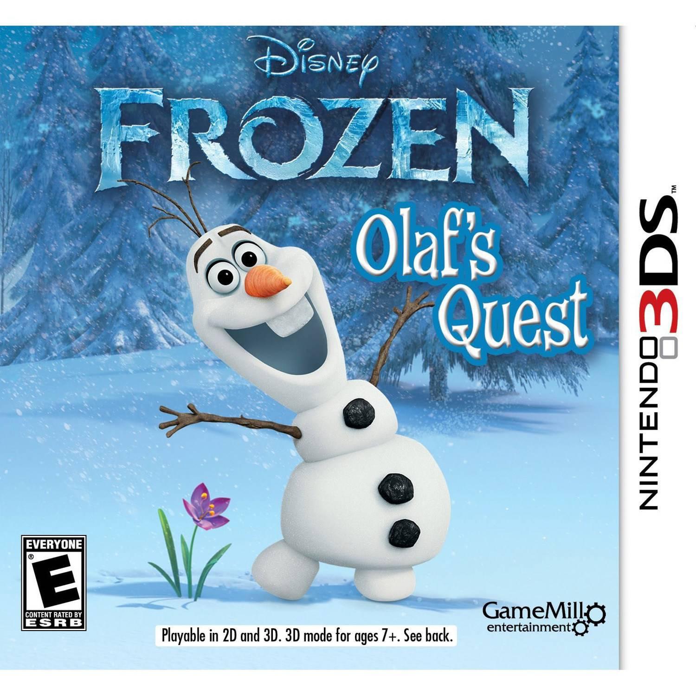 Disney Frozen: Olaf's Quest (Nintendo 3DS) - Pre-Owned