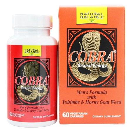 Natural Balance - Formula Cobra pour les hommes - 60 Capsules