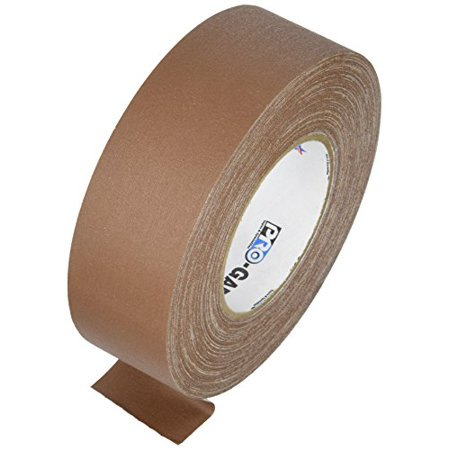 Pro Gaff Gaffers Tape 1 and 2 inch widths, 17 colors available, 2 inch, (Gaff Gauge)