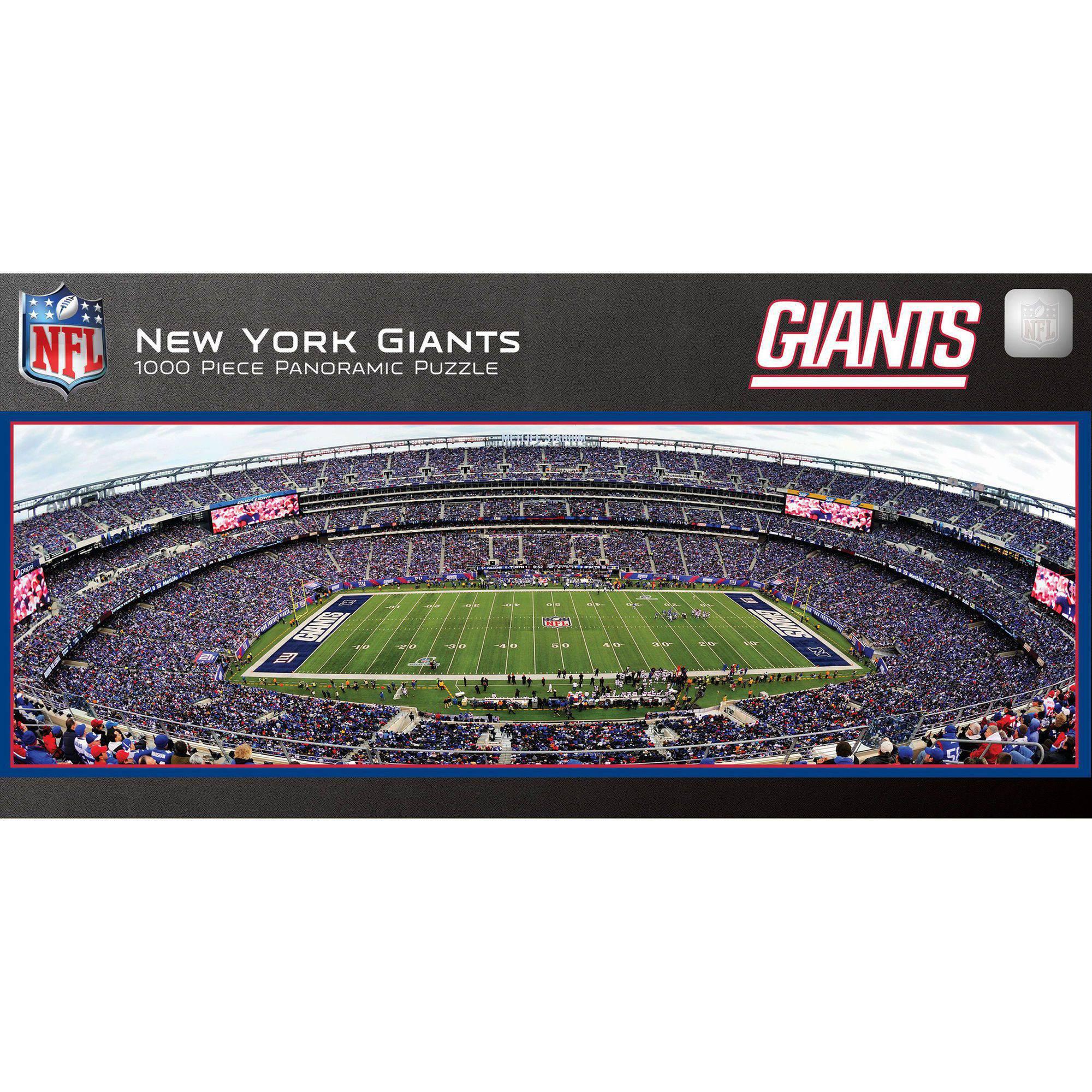 MasterPieces NFL New York Giants 1000 Piece Stadium Panoramic ...