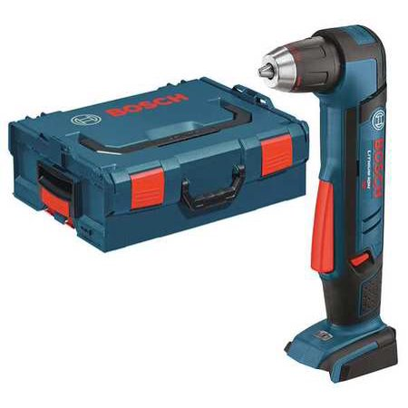 "BOSCH ADS181BL Cordless Right Angle Drill,18V,1/2"",Bare Tool"