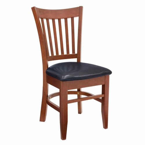 Regency Seating Zoe Wood Cafe Chair, Cherry/Black