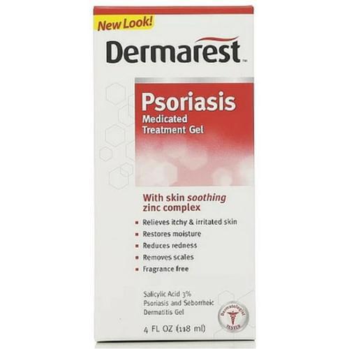 DERMAREST Psoriasis Medicated Moisturizer 4 oz (Pack of 2)