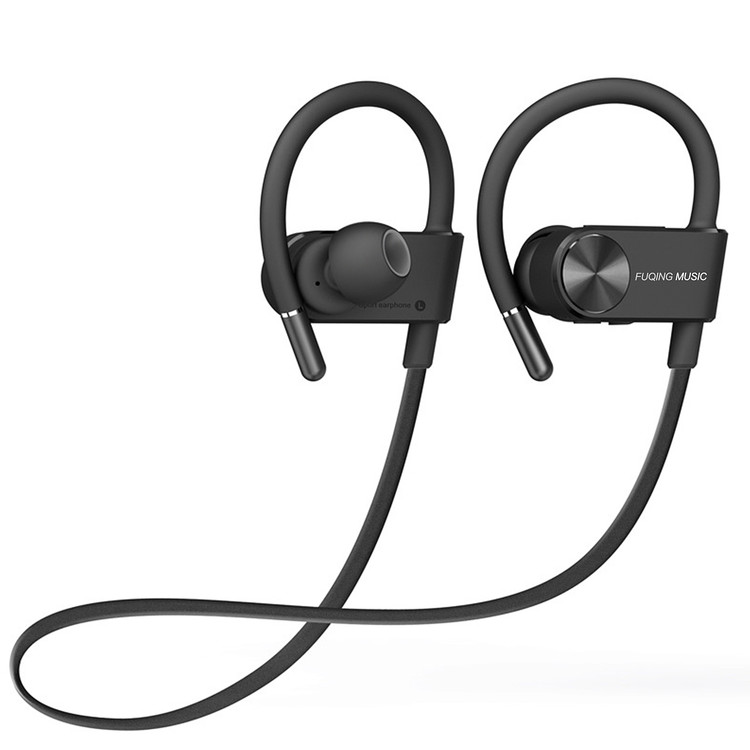 Bluetooth Headphones, Waterproof IPX7 Wireless Earbuds Sports, Richer Bass HD Stereo Earphones w/Mic for Gym Running Workout 8-10 Hours Battery Noise Cancelling Headsets