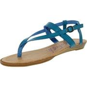 Blowfish Women's Berg Lagondcpu Ankle-High Leather Sandal - 7.5M