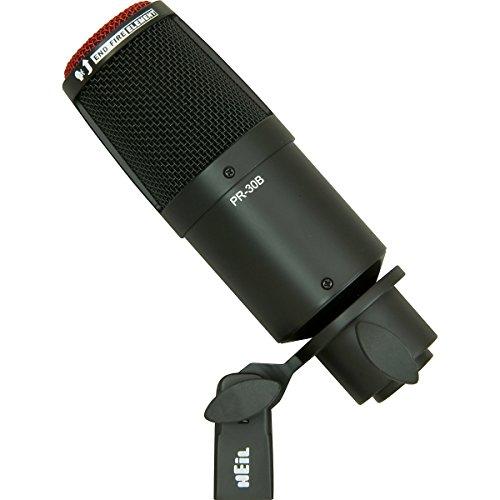 Heil Sound PR 30B Large-Diaphragm Dynamic Microphone BLACK by Heil Sound