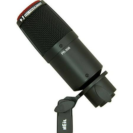 Elite Diaphragm - Heil Sound PR 30B Large-Diaphragm Dynamic Microphone BLACK