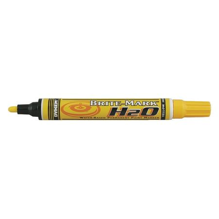 Dykem permanent paint marker water base yellow 91427 for Dykem paint markers