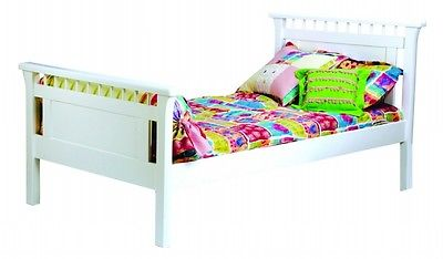 New Item Bolton Furniture 9851500 Bennington Twin Bed, White Home Bedroom Furniture GSS172357538 by GSS