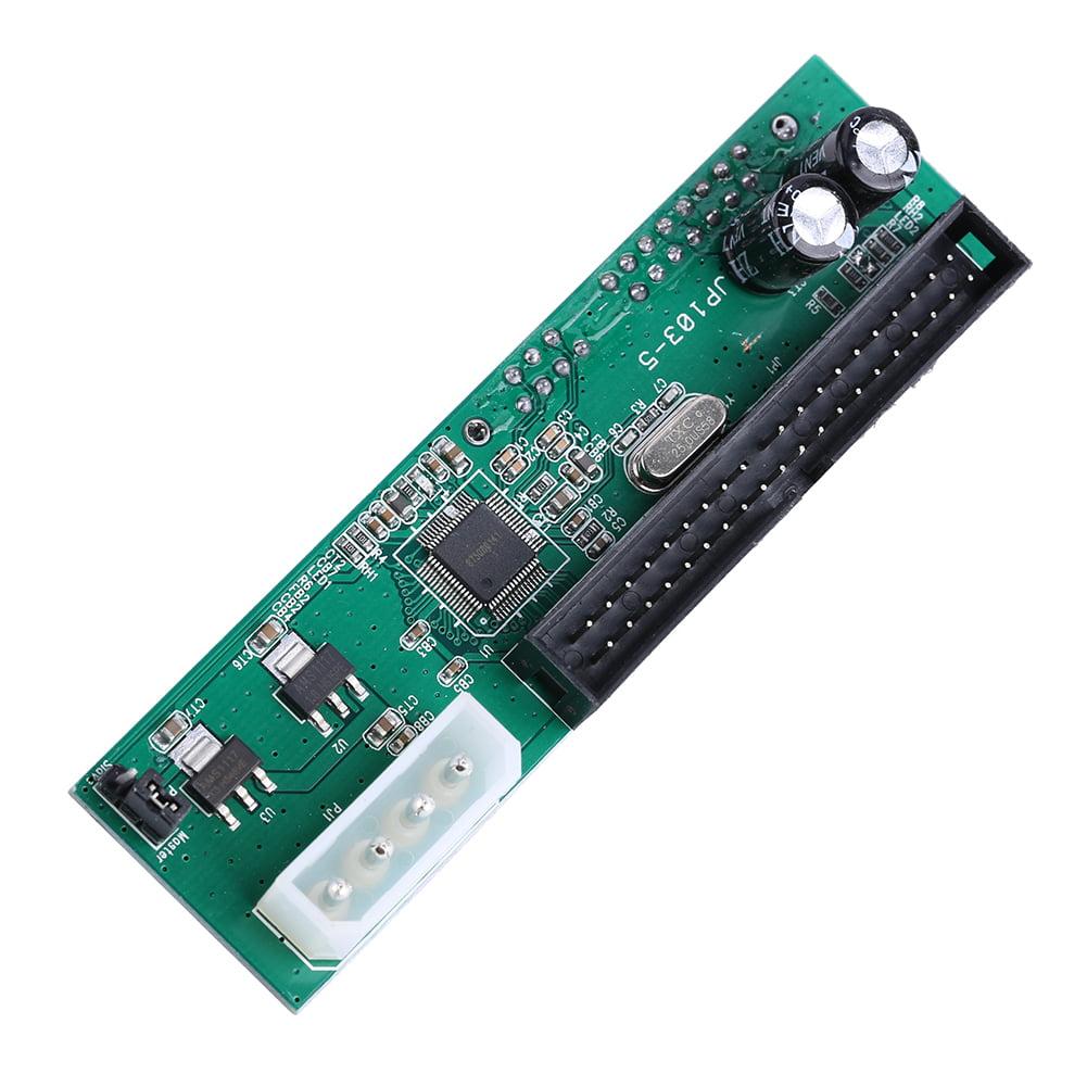 Ashata Parallel ATA Pata IDE To Sata Serial ATA Hard Drive Adapter Converter for PC and Mac, PATA to SATA Convert Adapter , PATA to SATA Hard Drive