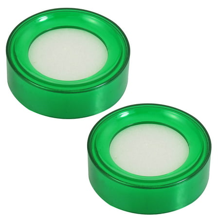 2 Pcs Plastic Case Sponge Finger Wet Green for Bank Cashier](Finger Monkey Prices)