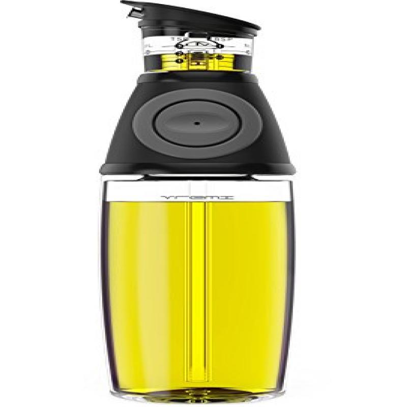 Vremi Olive Oil Dispenser Bottle - 17 Oz Oil Bottle Glass...