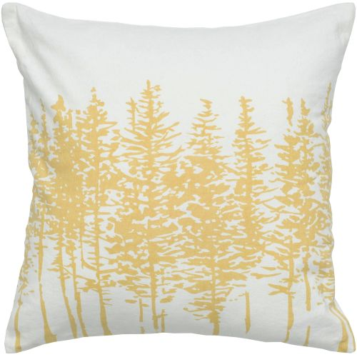 """Rizzy Home T05262 18"""" x 18"""" Pillow with Hidden Zipper and Polyester Filler"""