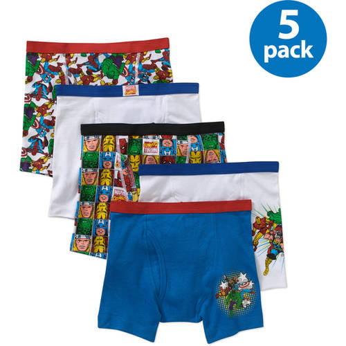 Handcraft Boys 2 - 7 Marvel Superheroes Boys Underwear, Pack 5