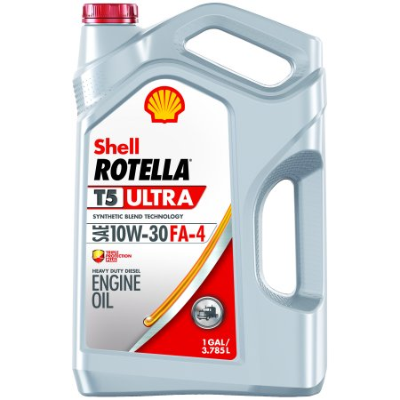 SHELL ROTELLAT5 ULTRA SYNTHETIC DIESEL BLEND OIL 10W-30 FA4 ,1