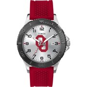 Timex - NCAA Tribute Collection Gamer Red Men's Watch, University of Oklahoma Sooners