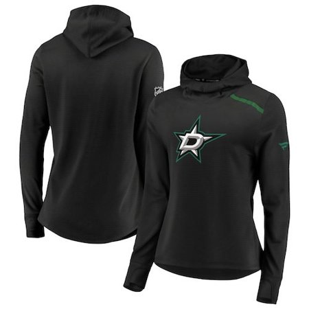 Dallas Stars Fanatics Branded Women's Authentic Pro Rinkside Transitional Pullover Hoodie - (Best Pho In Dallas)