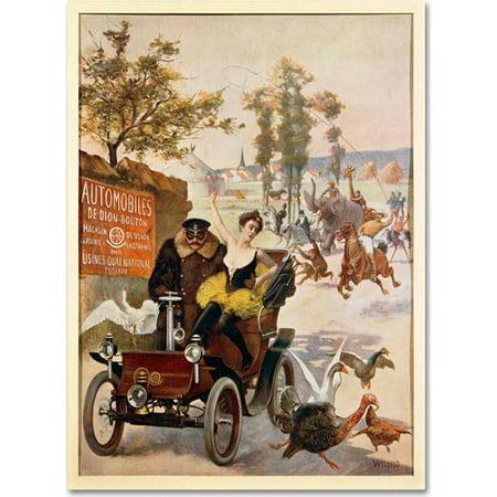 Circus Canvas (Trademark Fine Art