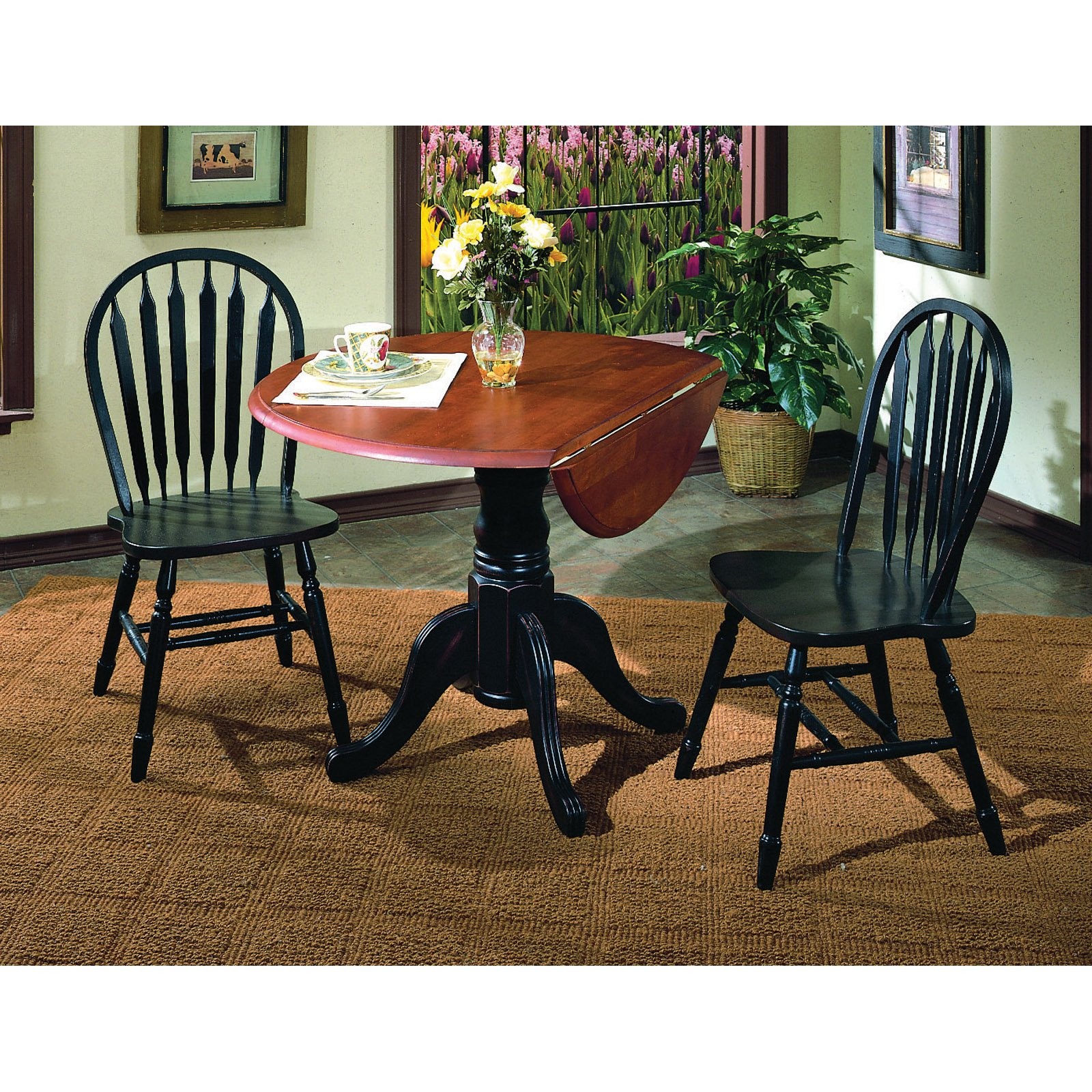 full pedestal wood dining round of center modern room size trestle ideas table inch