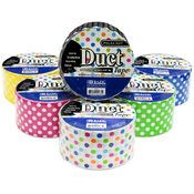 "BAZIC 1.88"" X 5 Yards Polka Dot Series Duct Tape (36 Units Included)"