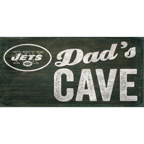 Fan Creations NFL Dad's Cave Graphic Art Plaque