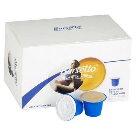 Barsetto Decaffeinated Espresso Pods - 100 Pack Decaffeinated Espresso Pods Case