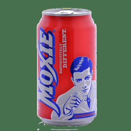 Moxie Soda - 12 fl oz, 12 pack (Blueberry Soda Maine)