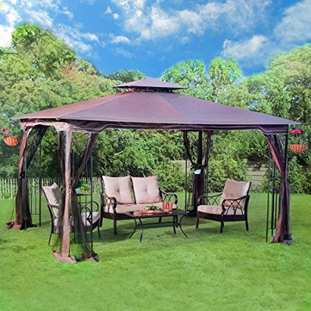 gazebo canopy outdoor awesome x garden backyard target patio walmart living replacement outdoors home