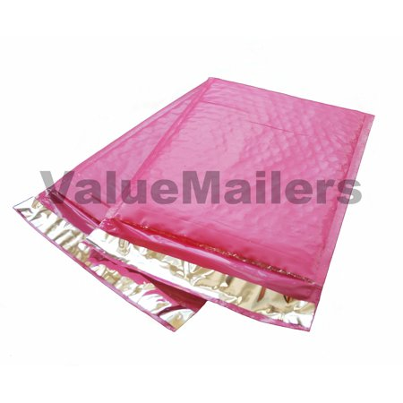 Details about  50 #000 PINK Poly Bubble Mailers Envelopes Bags 4x8 Extra Wide Bag 4