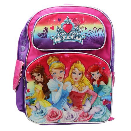 Backpack - - Princess Vibrant Rainbow School Bag New 655990](Rainbow Backpack)