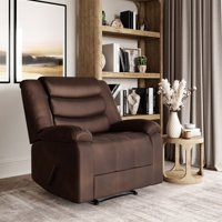 Deals on Lifestyle Solutions Hudson Single Chair Microfiber Manual Recliner