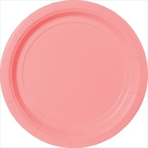 Pale Pink Rose Extra Large Paper Plates (20ct) & Pale Pink Rose Extra Large Paper Plates (20ct) - Walmart.com