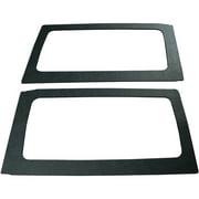Boommat 050165 Leather-look Rear Side Windows Sound-Deadening For 2011 & Up Jeep Wrangler Hard Tops (2 Door)