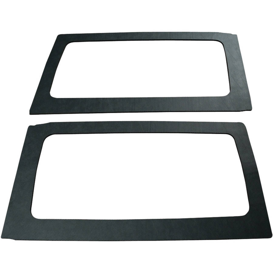 Boommat 050165 Leather-look Rear Side Windows Sound-Deadening For 2011 & Up Jeep Wrangler Hard Tops (2 Door)