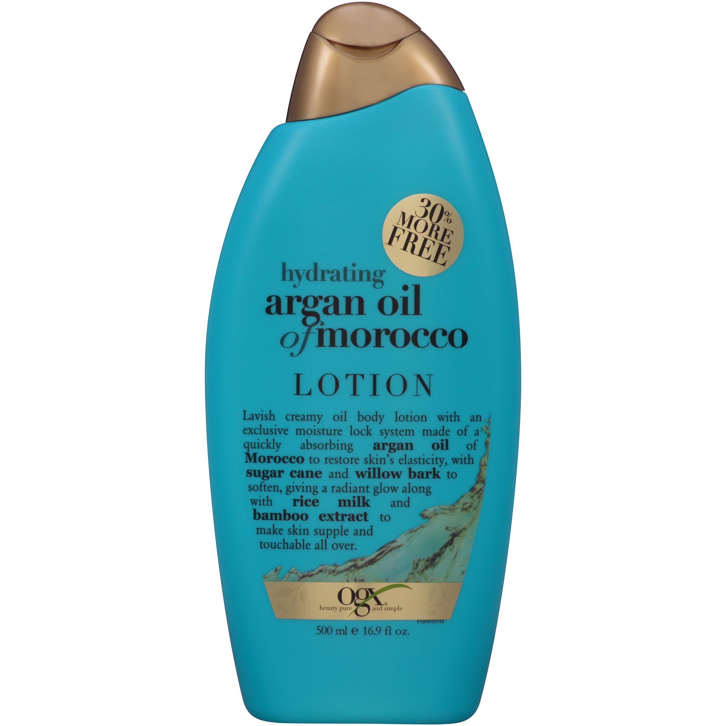 OGX�� Hydrating Argan Oil of Morocco Creamy Oil Body Lotion 16.9 fl. oz. Bottle