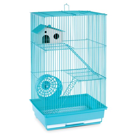 Prevue Pet Products 3-Story Hamster & Gerbil Cage, Mint Green
