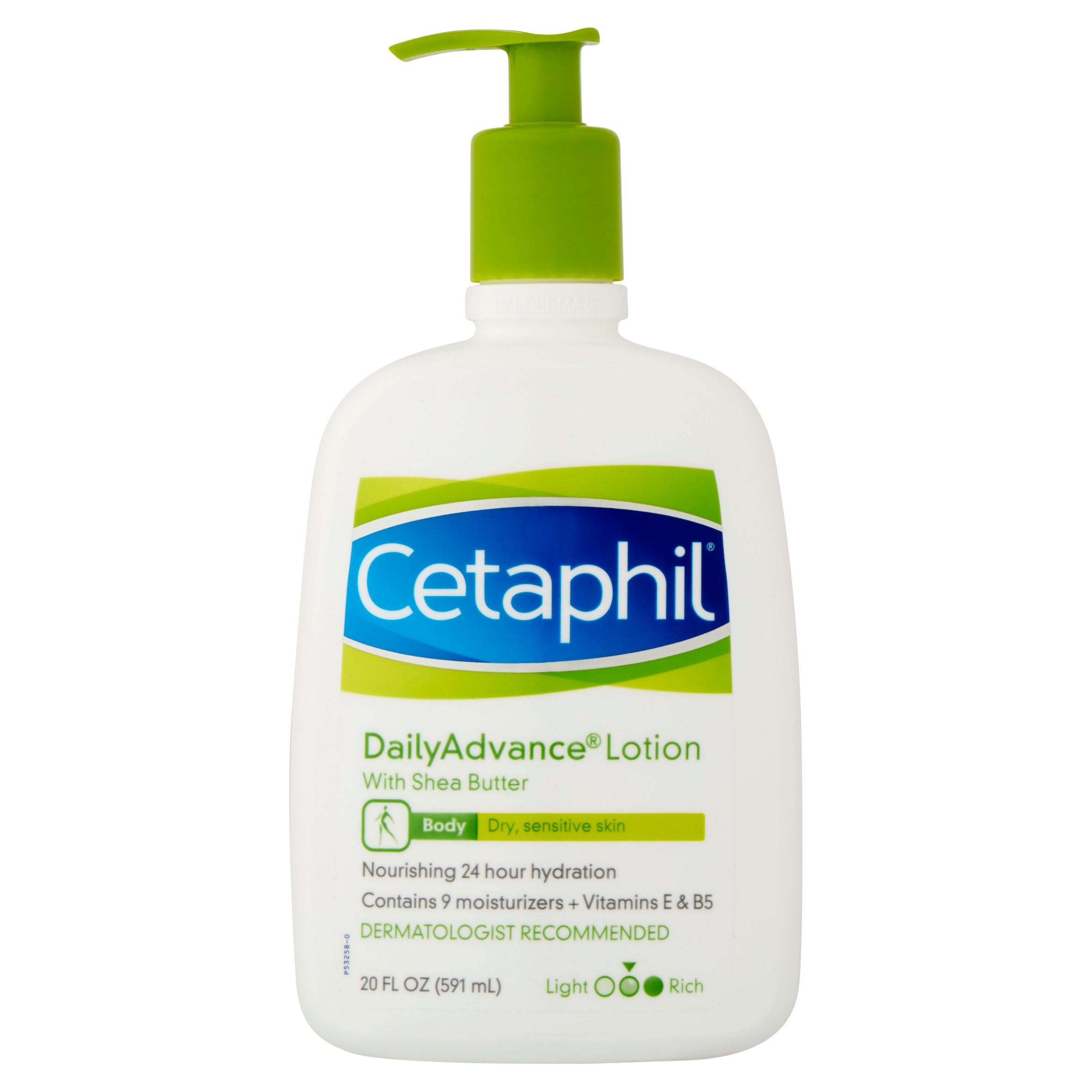 Cetaphil DailyAdvance Lotion with Shea Butter, 20 fl oz