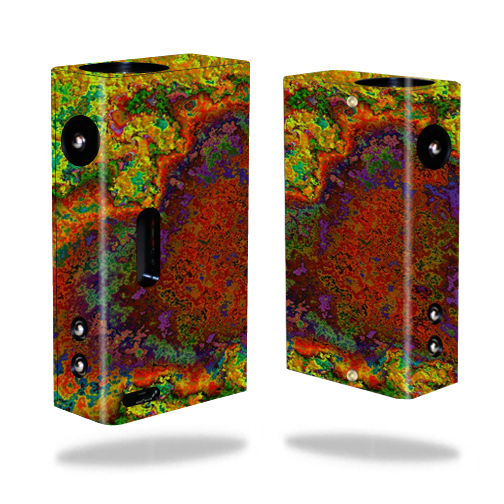 Skin Decal Wrap for Hana Modz V3 DNA 40 mod sticker vape Rust