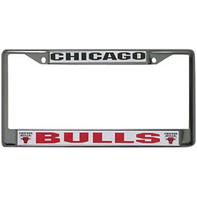 Chicago Bulls Chrome License Plate Frame