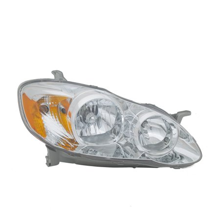 TYC 20-6235-80-1 Right Headlight Assembly for 2005-2008 Toyota Corolla - Toyota 4runner Headlamp Assembly