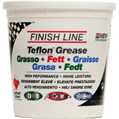Finish Line Teflon Premium Synthetic Bicycle Grease - 4 lb Tub - G00640101