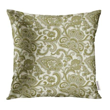 ARHOME Blue Persian Paisley Pattern White Abstract Arabesque Arabic Artistic Baroque Pillowcase Cushion Cases 18x18 inch