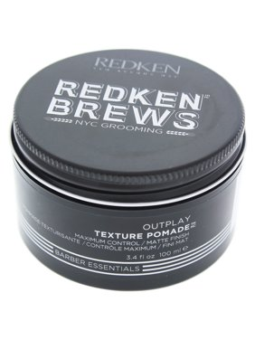 Redken Brews Outplay Texture Hair Putty for Men, 3.4 Oz