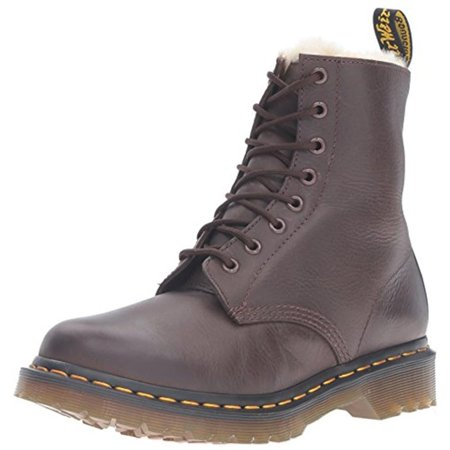 Dr. Martens Womens Serena Leather Lace Up Combat Boots ()