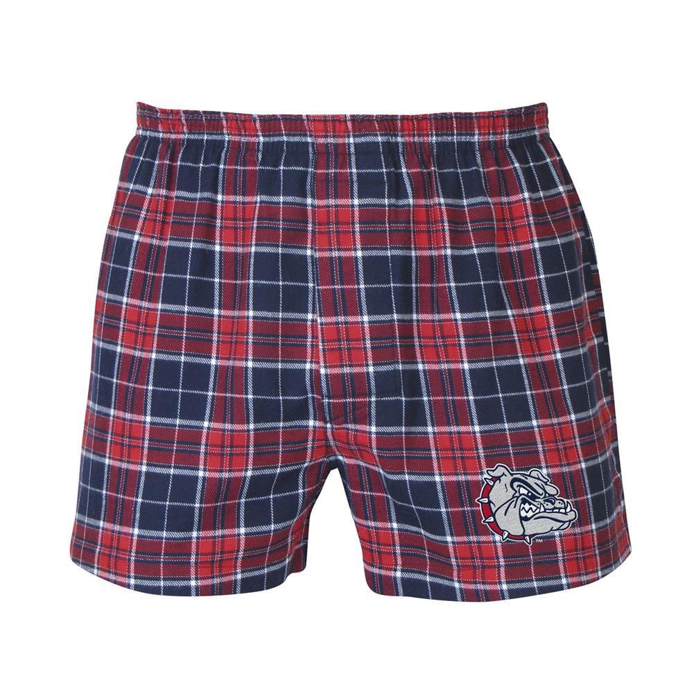 Men's Gonzaga University Bulldogs Boxer Shorts by Concepts Sport